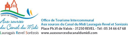 Office du Tourisme Intercommunal, Aux sources du Canal du Midi